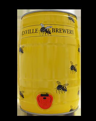 Enville Ales brewery mini keg