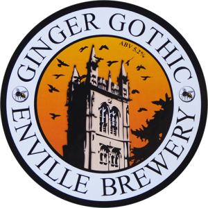 Enville Ales Brewery Ginger Gothic Pump clip logo