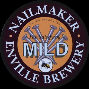 Enville Ales Brewery Nailmaker Pump clip logo