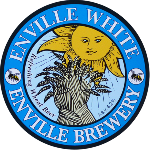 Enville Ales Brewery White Pump clip logo