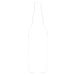 Enville ale brewery bottle outline symbol