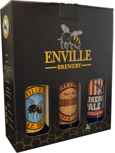 Enville Ales Brewery 3 gift pack front