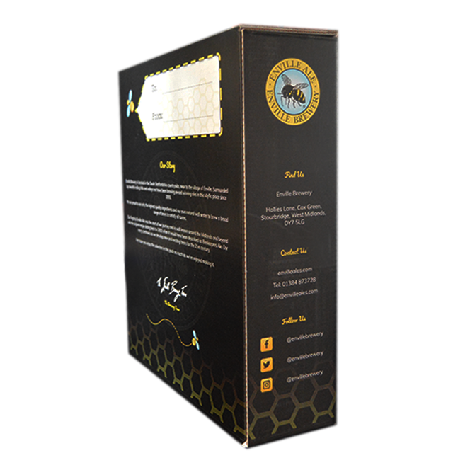 Enville Ales Brewery 3 gift pack side