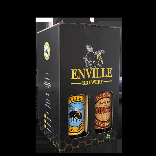 Enville Ales Midlands Staffordshire Shropshire Brewery 4 pack gift set Enville Ale Enville Ginger