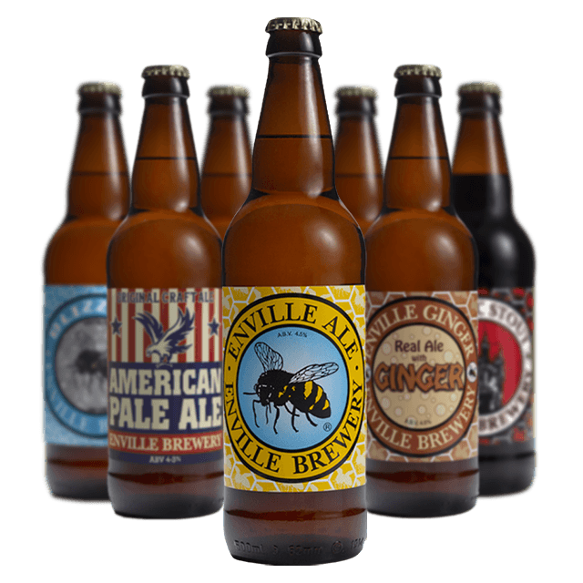 Enville Brewery Bottled Ales mix selection
