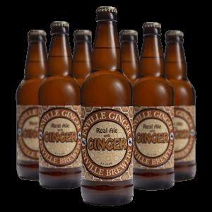 Enville Ales Brewery Ginger Bottles
