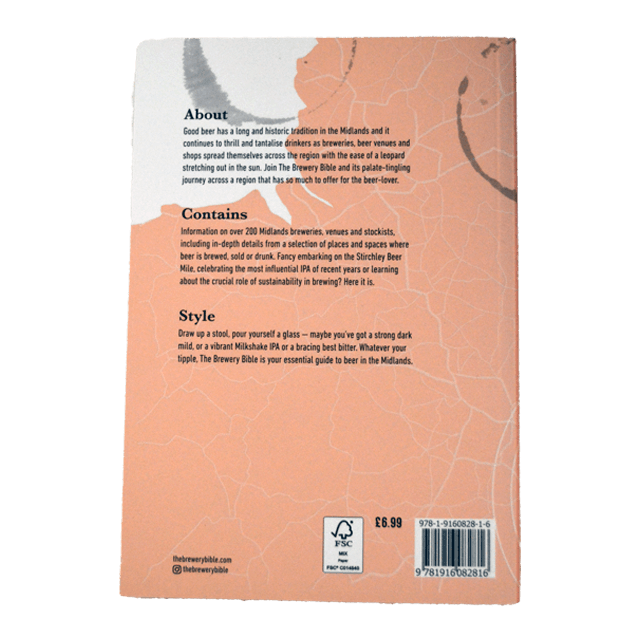 The Brewery Bible midlands edition back featuring Enville Ales Brewery
