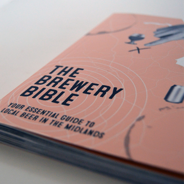 The Brewery Bible midlands edition featuring Enville Ales Brewery close up