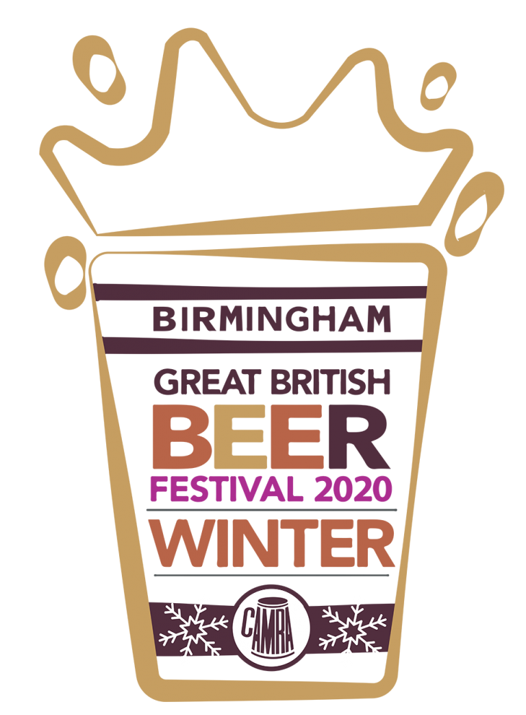 Birmingham Great British beer festival logo sponsored by Enville Ales Brewery