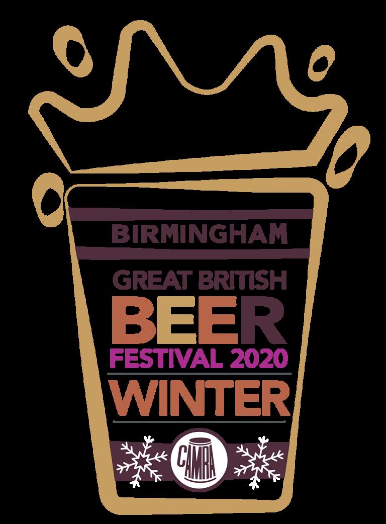 Birmingham Great British beer festival logo sponsored by Enville Ales Brewery